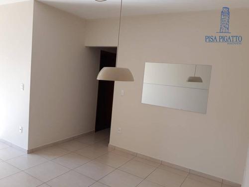 Apartamento Com 3 Dormitórios À Venda, 77 M² Por R$ 450.000,00 - Jardim Europa - Paulínia/sp - Ap0921