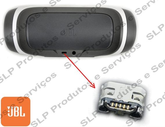 Conector Carga Micro Usb Caixa Som Jbl Charge Original #2495