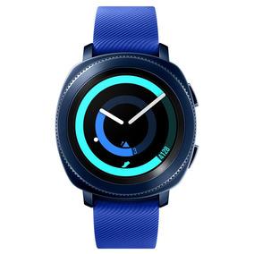 Smartwatch Samsung Gear Sport Batimentos Cardíacos Azul