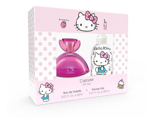 Set Hello Kitty Perfume Cupcake 60 Ml + Shower Gel