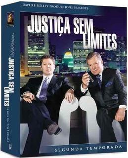 Justiça Sem Limites 2ª Temporada - Box Com 7 Dvds - Novo