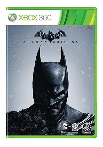 Batman Arkham Origins - Xbox 360 - Usado - Original
