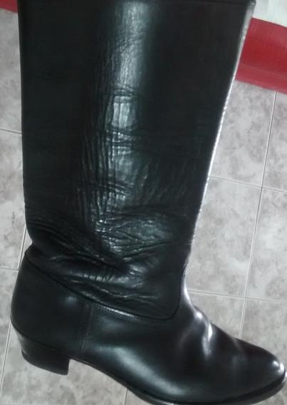 Botas De Cuero N°37