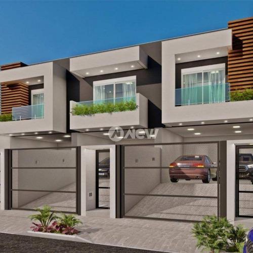Imagem 1 de 2 de Casa Com 3 Dormitórios À Venda, 173 M² Por R$ 720.000 - São José - São Leopoldo/rs - Ca3941