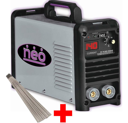 Soldadora Electrica Inverter Neo 140a + Electrodoie9140 G P