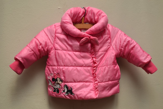 Campera Inflable Rosa Chicle - Disney - Talle 6/12 Meses