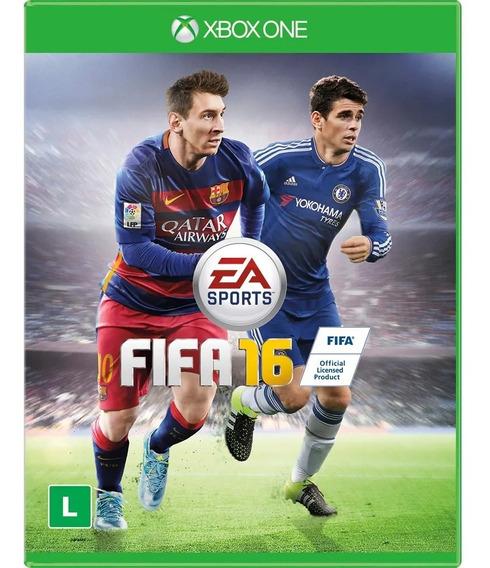Jogo Xbox One Fifa 16 Midia Fisica Novo Lacrado!!