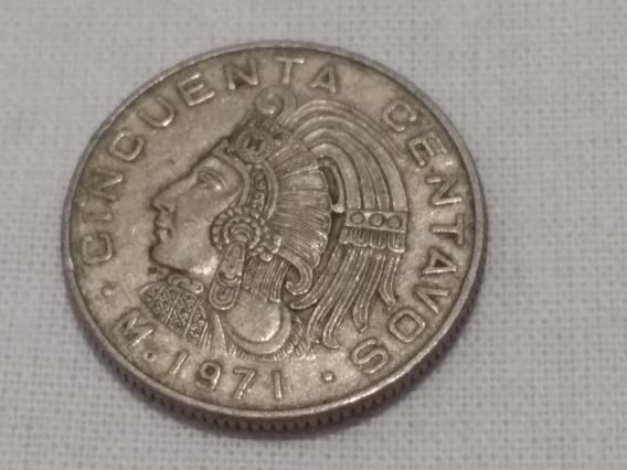50 Centavos Estados Unidos Mexicanos 1971
