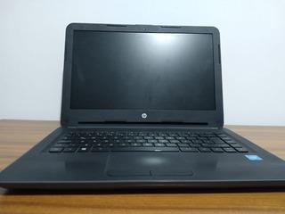 Notebook Hp 240 G5 Negra Excelente Estado