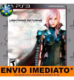 Jogo Ps3 Lightning Returns Final Fantasy 13 Psn Play 3