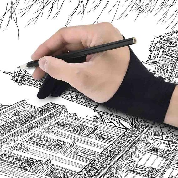 Luva Gaomon Tablet Wacom Sketch Huion Pc iPad
