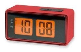 Digital Alarm Clock Red: Reloj Despertador (ac25-rd)