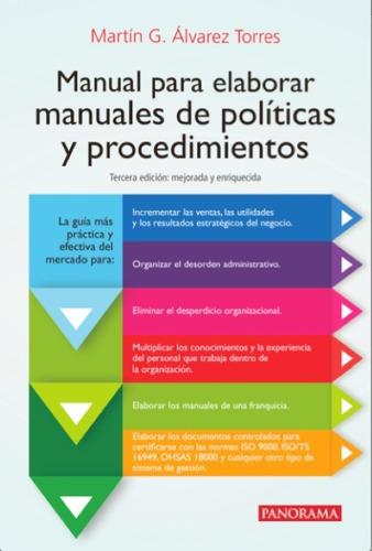 Manual Para Elaborar Manuales De Política Y Procedimientos