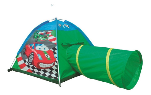 Carpa Juguete Autos Car Tent With Tunel 8331 Play 10 - Luico