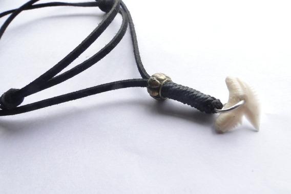 Cordão Da Moda Dente De Tubarão /tailândia