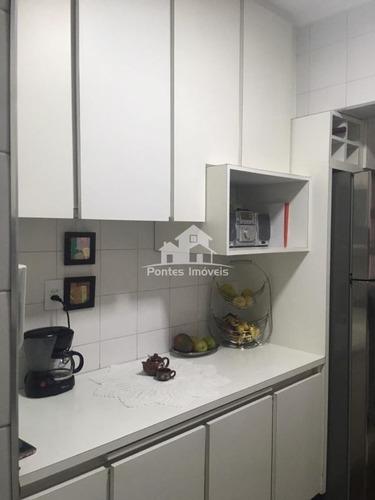 Imagem 1 de 24 de Apartamento 92m² 3 Dorms. 1 Vaga No Bairro Vila Assunção-sa-sp - Apa3012
