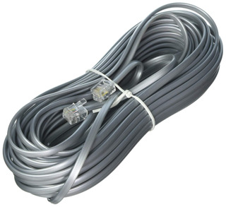 Monoprice 100935rj116p4°c Cable De Teléfono Fijo, 50-feet