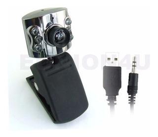 Webcam 1,3 Mp C/micro Y Luz