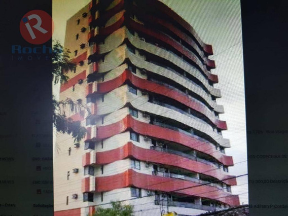 Apartamento Com 3 Dormitórios Para Alugar, 127 M² Por R$ 680/mês - Torre - Recife/pe - Ap9952