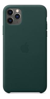 Funda Apple Leather Case iPhone 11 Pro Max Cuero