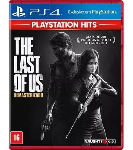 The Last Of Us Remastered Ps4 Português Mídia Física Lacrado
