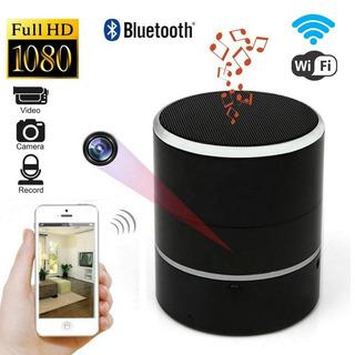 Ec Camara Espia/oculta Parlante Bluetooth Hd Wifi Gira 180°