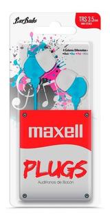 Auriculares Maxell In-225 Celular Samsung Lg Motorola Huawei