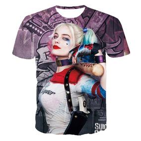 Camisetas Esquadrão Suicida 3d