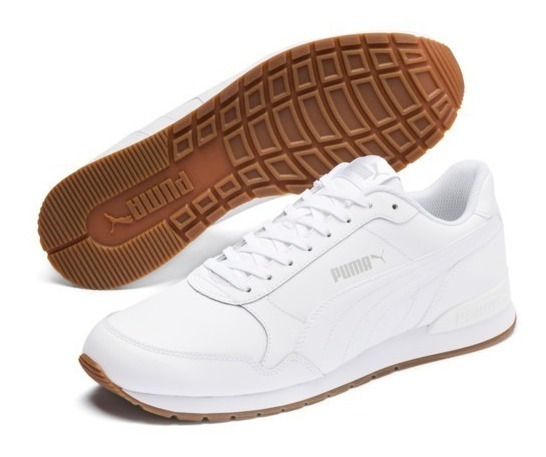 Tenis Puma St Runner V2 Full L Unissex Branco - Original
