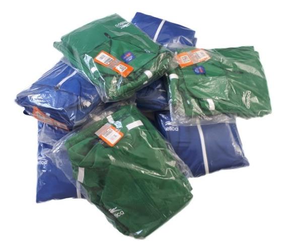 Combo O Lote 13 Conjuntos Atletica Azul Rey Y Verde Hombre