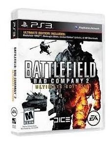 Jogo Ps3 Battlefield Bad Company 2 Midia Fisica Impecavel!