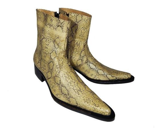 Botas Neo Texan Cowboy Boots Priamo Italy