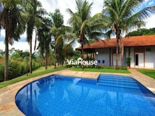 Chácara Com 5 Dormitórios À Venda, 6149 M² Por R$ 1.300.000,00 - Condomínio Quinta Da Boa Vista - Ribeirão Preto/sp - Ch0002