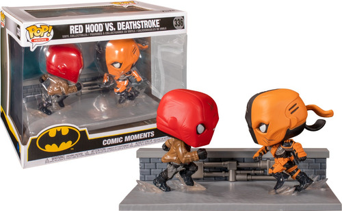 Funko Pop Red Hood Vs Deathstroke Exlusivo Comiccon 2020!!