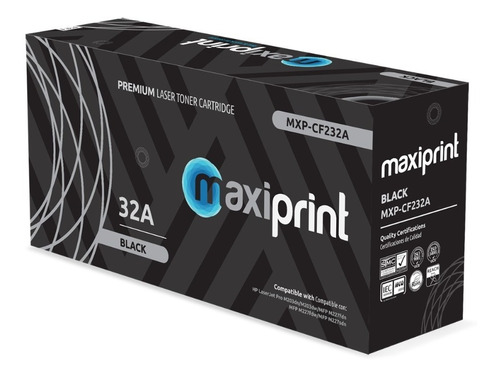 Drum Maxiprint Compatible Hp 32a - Cf232a