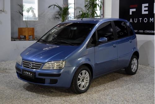 Fiat Idea Hlx 1.8 Mpi Nafta 2006 Azul Excelente Estado!