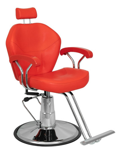 Imagen 1 de 9 de Sillon De Barbero Hidraulico Reclinable Salon Peluqueria