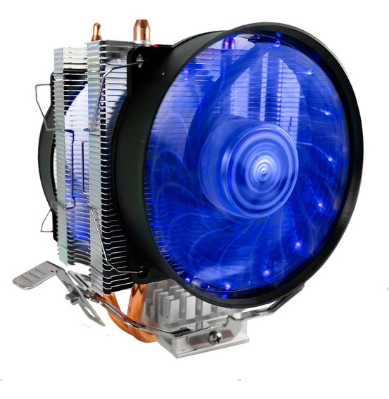 Cooler Dual Fan Duplo Cpu Pc Intel Amd 775 1150 1151 Am3+