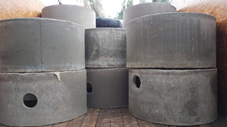 Camara Septica Premoldeada Cemento Para 10 Personas