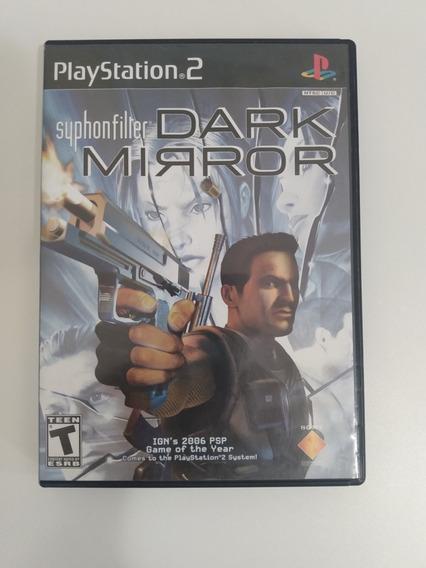 Jogo Syphonfilter Dark Mirror Para Ps2