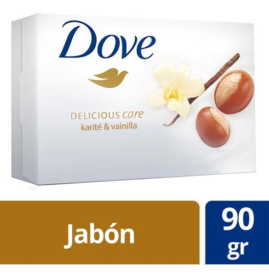 Jabón De Tocador Dove Karité Y Vainilla Individual 90gr