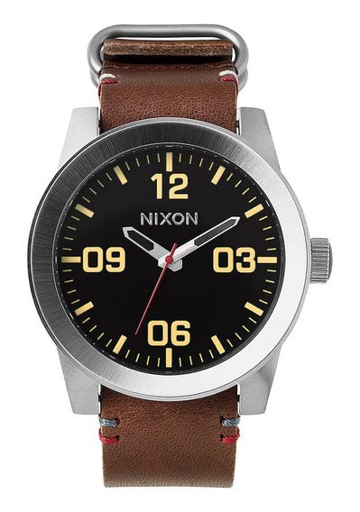 Relógio Nixon - Corporal Black/brown 48 Mm