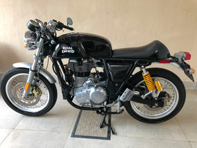 Café Racer - Royal Enfield Continental Gt - Abs E Kit Garupa