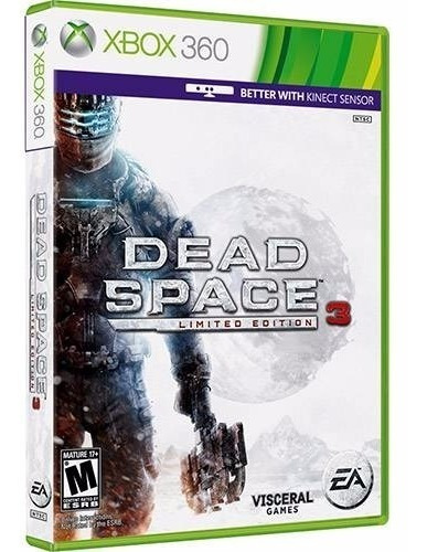 Game Xbox 360 Dead Space 3 Limited Edition - Original - Novo