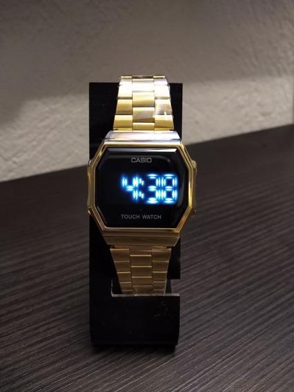 Reloj Vintage Dorado Touch Edition