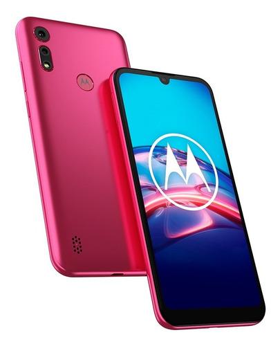 Celular Motorola Moto E6s 32gb 2gb Rosa Garantia Oficial