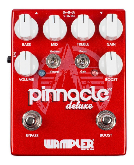 Pedal Wampler Pinnacle Deluxe V2 C/ Nfe & Garantia