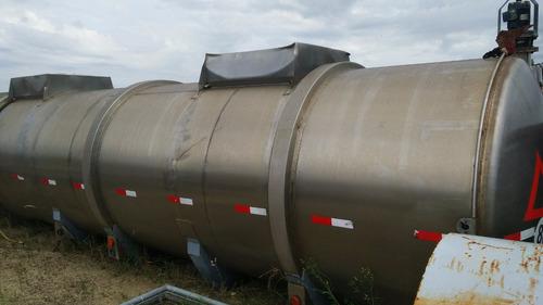 Tanque Cisterna 30000l 12m Acero Inoxidable