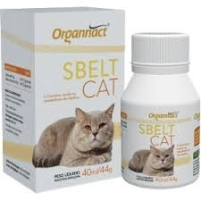 Suplemento Alimentar Organnact Cat Sbelt - 40 Ml