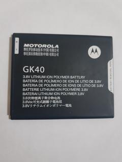 Bateria Gk40 Moto E4 - G5 - G4 Play - Moto C- Original